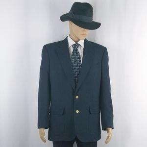 Stafford navy blazer jacket men's size 40L.